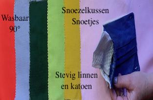 Snoezelkussen Snoetje / Mondkapje